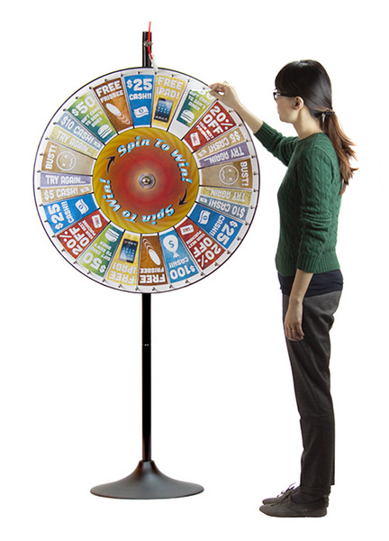 """36"""" Prize Pocket Wheel with Stand"""