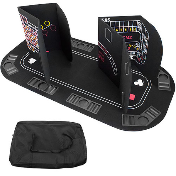 5 in 1 Table Top Poker, Blackjack, Roulette, Craps
