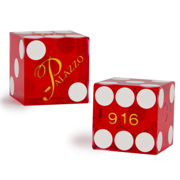 2 Palazzo 19 MM Official Casino Dice