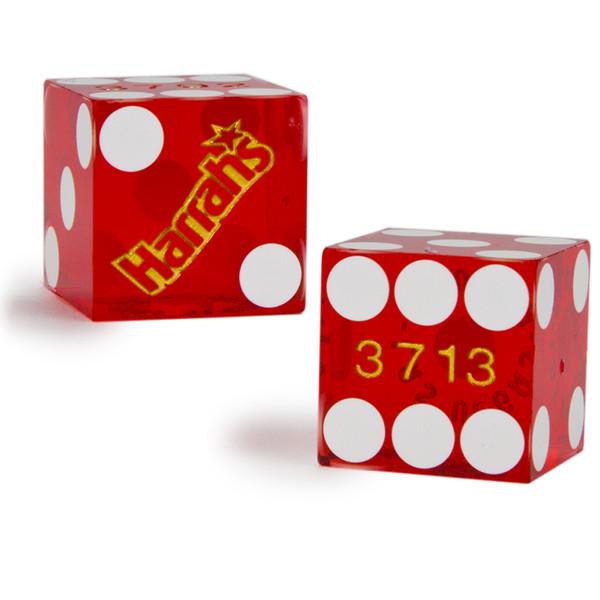 2 Harrah's 19 MM Official Casino Dice