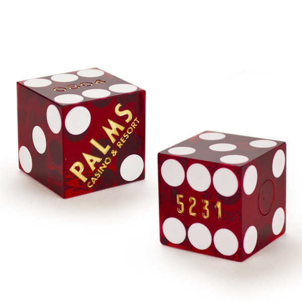 2 Palms 19 MM Official Casino Dice