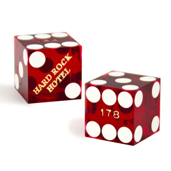 2 Hard Rock 19 MM Official Casino Dice