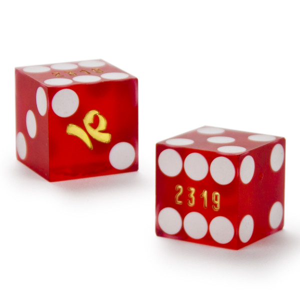 2 IP 19 MM Official Casino Dice