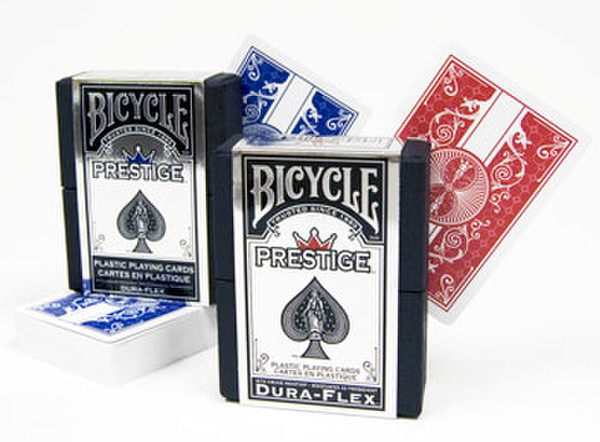 100% Plastic Bicycle Prestige Poker Size RB Playing Cards