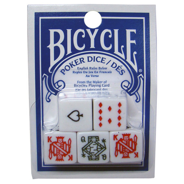 5 Bicycle Poker Dice