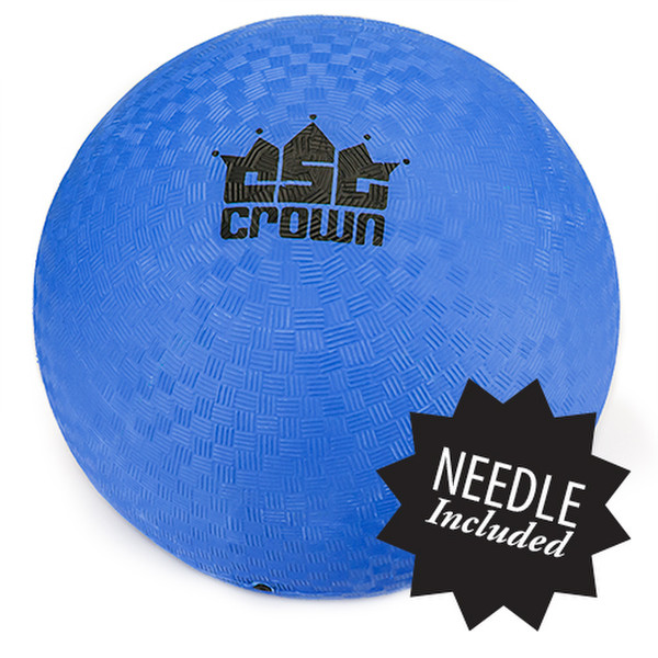 """Blue Dodge Ball 8.5"""" with Needle"""