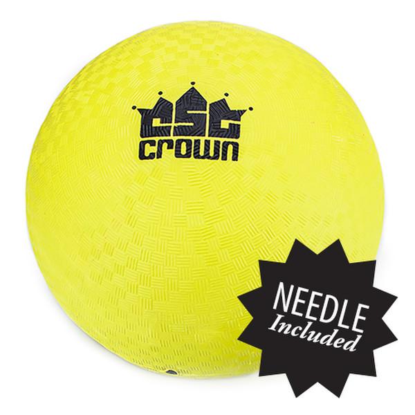 """Yellow Dodge Ball 8.5"""" with Needle"""