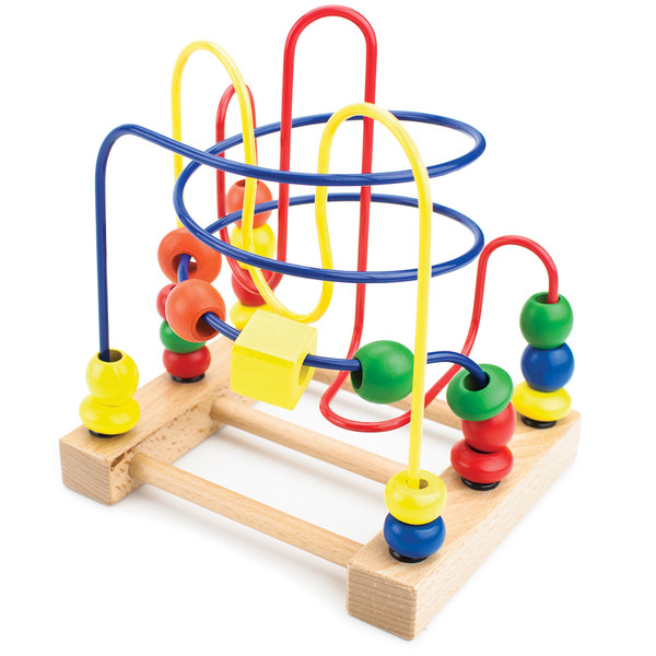 Developmental Wooden Bead Maze Game